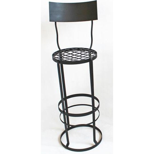 Industrial Woven Bar Stool - Image 2 of 3