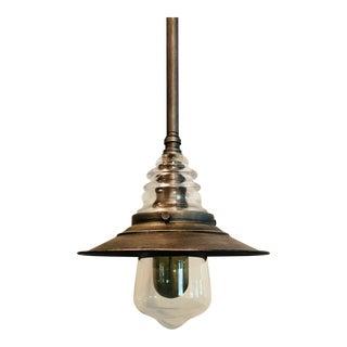 Elk Lighting Insulator Glass Pendant For Sale