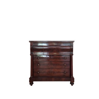 Antique Mahogany Storage Chest For Sale