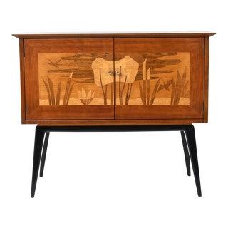 Vintage Italian Renzo Rutili Cabinet