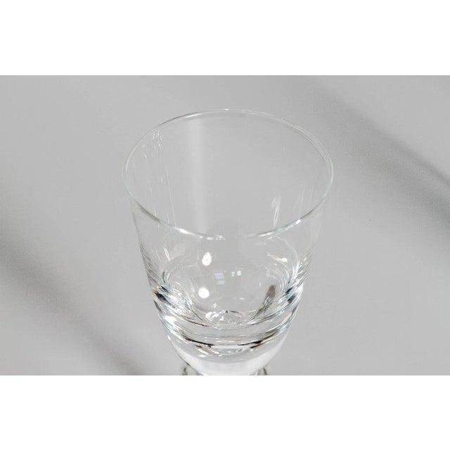 Set of Fifteen (15) Steuben Baluster Water Goblets For Sale - Image 9 of 12