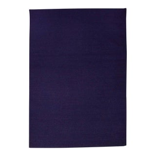 Flat Woven Dhurrie Purple Solid Rug - 5' x 8'