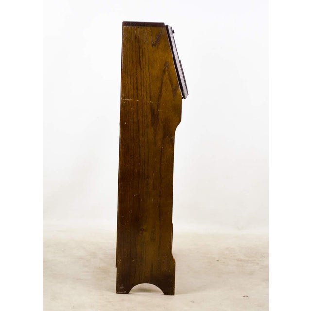 19th Century English Traditional Stand-Up Desk Bookshelf For Sale - Image 11 of 13