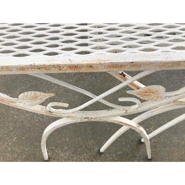 Mid-Century Modern Salterini Iron Nesting Tables - Set of 3 - Image 8 of 9