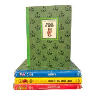 Vintage Wonderful Worlds of Walt Disney Books - Set of 4 For Sale
