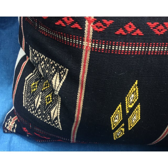 Burmese Chin Tribal Textile Pillows - A Pair - Image 6 of 7