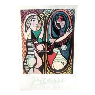"""1990s Modern MoMa Picasso Museum Exhibition Print """"Girl Before a Mirror"""" For Sale"""