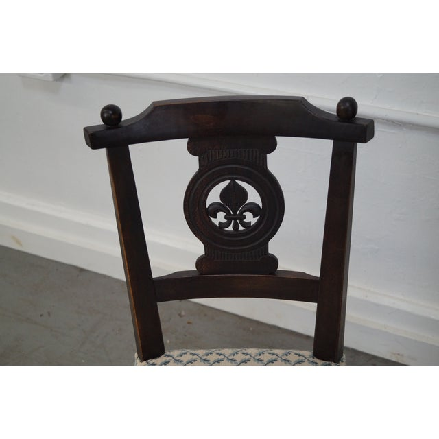Antique 19th C. French Country Dining Chairs - 4 - Image 5 of 10