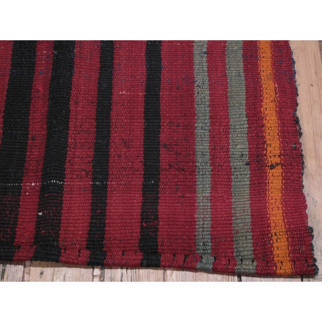 Red Pala Kilim For Sale - Image 8 of 8