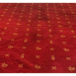 French Provence Bee Tablecloth Reversible For Sale