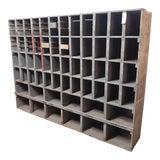 Image of 1950s Vintage Solid Wood Cabinet For Sale