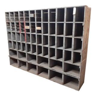 1950s Vintage Solid Wood Cabinet For Sale