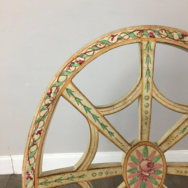 Hand Painted Side Chair - Image 5 of 10