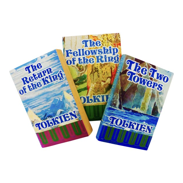 1975 The Lord of the Rings Books- Set of 3 - Image 1 of 7