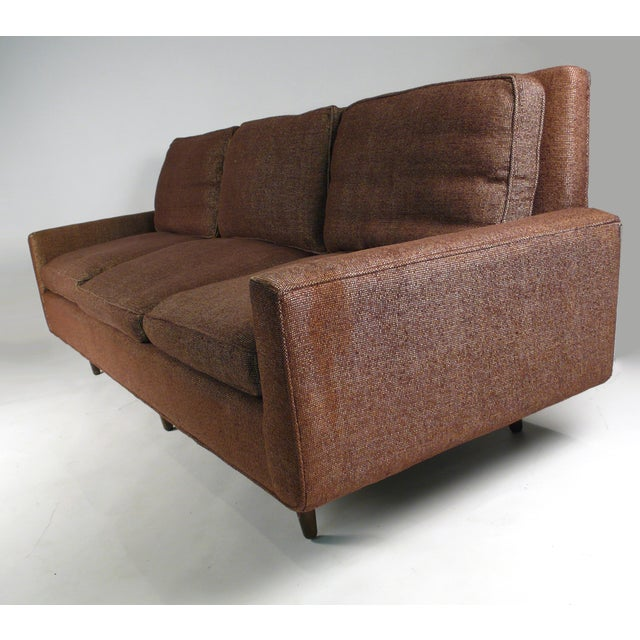 Modern Early Florence Knoll Down-Filled Sofa For Sale - Image 3 of 7