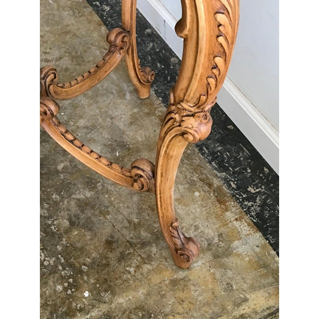 Early 20th Century 20th Century French Inlaid Wood Entry Table For Sale - Image 5 of 7