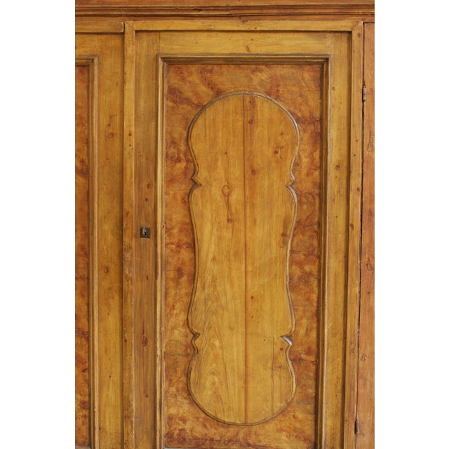 Grand Antique 17th Century Tuscan Armoire For Sale In San Francisco - Image 6 of 13