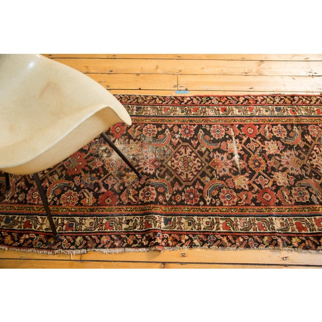 "Antique Distressed Rug Runner - 2'11"" X 12'8"" - Image 9 of 10"