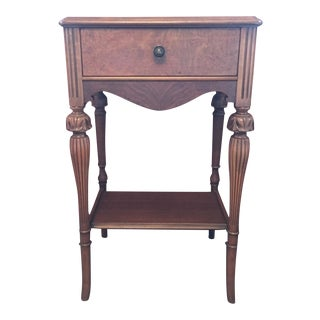 1920s Night Table For Sale