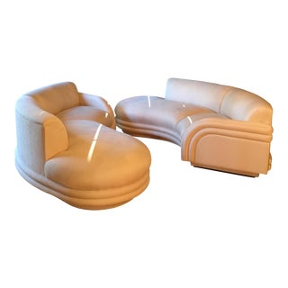 Mint Vladimir Kagan Cloud Sofas - A Pair