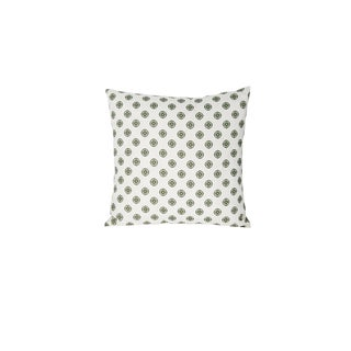 Small Linen All-Over Accent Pillow For Sale