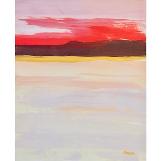 "Contemporary Landscape, ""Desert Color Study I"" by Angela Seear For Sale"