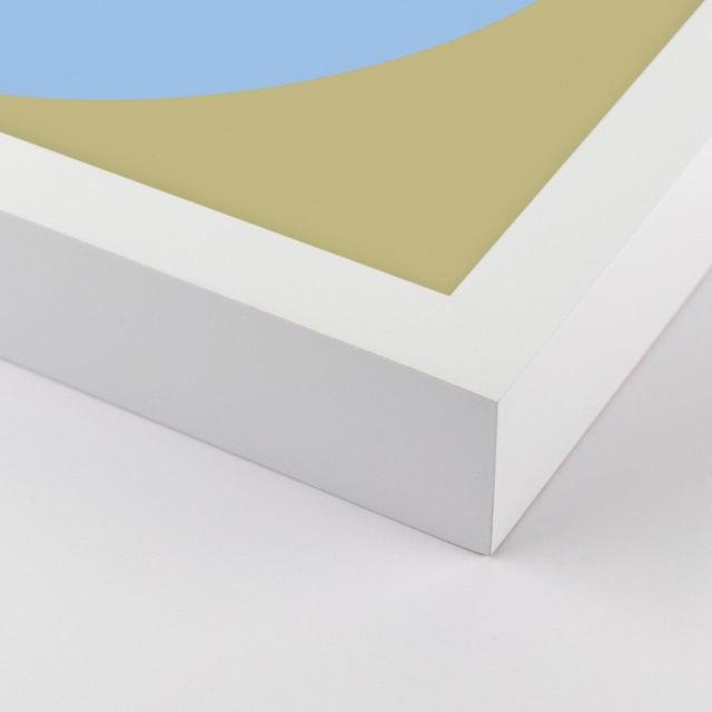 Blue Hot Forevers Set of 6 by Stephanie Henderson in White Frame, Medium Art Print For Sale - Image 8 of 9