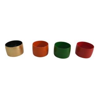 Vintage Napkin Rings - Set of 4 For Sale