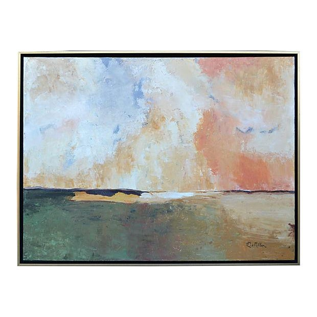 "Laurie MacMillan ""Continuum"" Painting - Image 1 of 2"