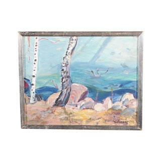 Carlstedt Ice Edge Painting For Sale