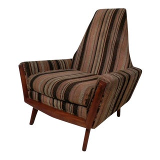 Adrian Pearsall Style Mid-Century Arm Chair For Sale