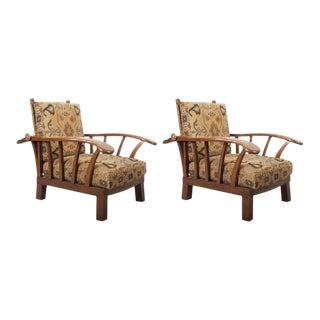 Art Deco Armchair - A Pair