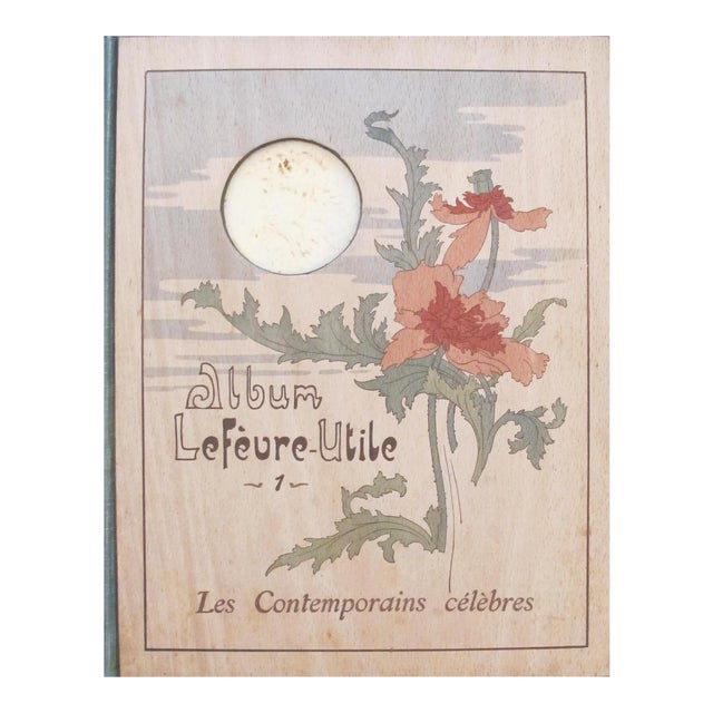 """1904 """"Les Contemporains Celebres"""" Book For Sale"""