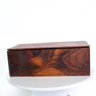 Vintage Antique Decorative Wood Box Splice Lap Joints Preview