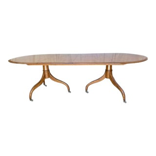 Mid 20th Century Dessin Fournir Georgian Dining Table For Sale