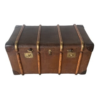 Antique Trunk England For Sale