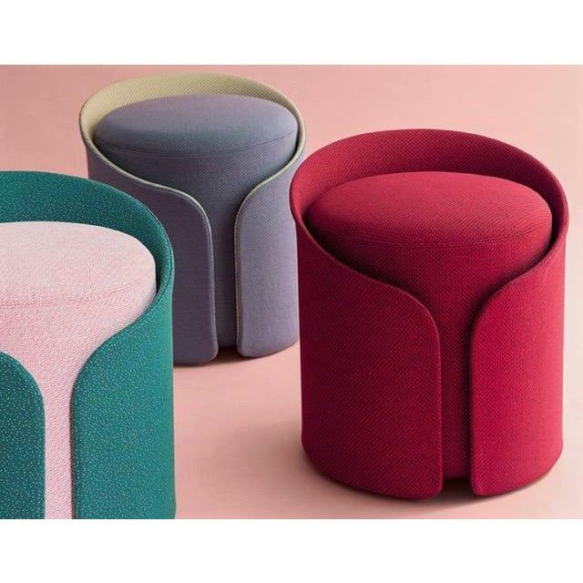 The Dev Tea Stools are a great addition to any interior concept. Produced of an upholstered outer frame, made from a light...