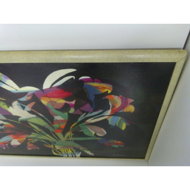 Multicolor Floral Painting by Aldrich Jenkins - Image 5 of 7