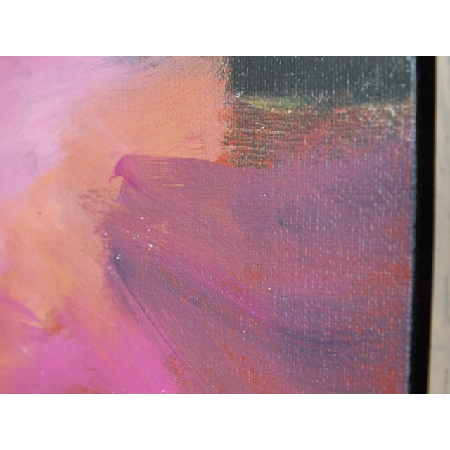 """Abstract Southwestern Landscape """"Twilight"""", Jamie Chase For Sale - Image 9 of 10"""
