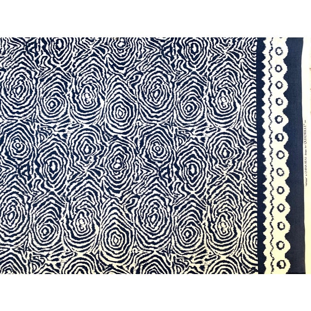 2000 - 2009 Quadrille Alan Campbell Meloire Reverse Suncloth Fabric For Sale - Image 5 of 6