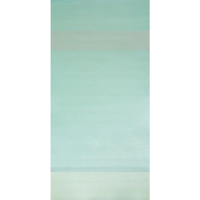 Acrylic painting on Paper by Jay Rosenblum 40 × 22 in 101.6 × 55.9 cm Signature: Signed in pencil.American, 1933-1989