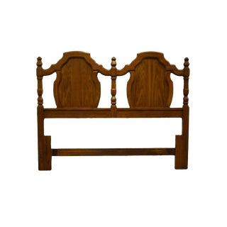 Thomasville Huntley Furniture Manuscript Collection Italian Neoclassical Queen Size Headboard For Sale