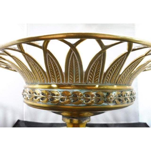 Early 20th Century 20th Century Neoclassical Bronze Tazza For Sale - Image 5 of 10