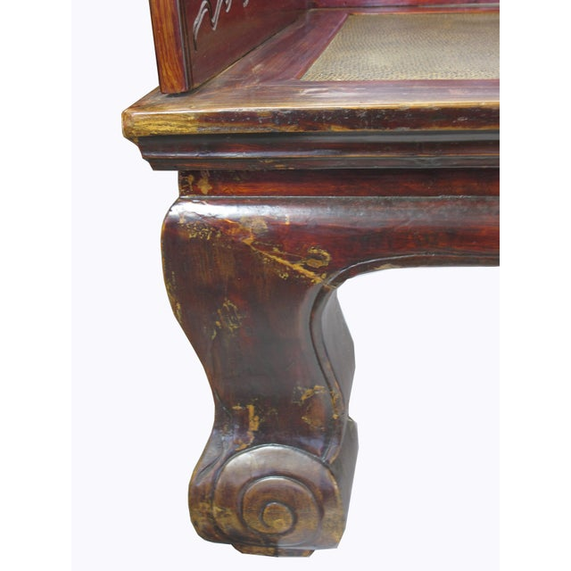 1900s Antique Chinese Daybed For Sale - Image 9 of 13