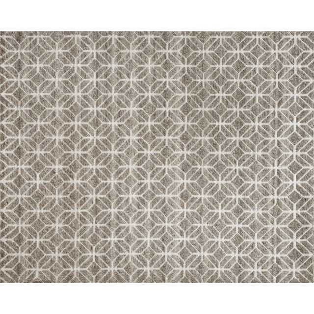 """Not Yet Made - Made To Order Alston - Stone Area Rug - 10'0"""" x 14'0"""" For Sale - Image 5 of 5"""