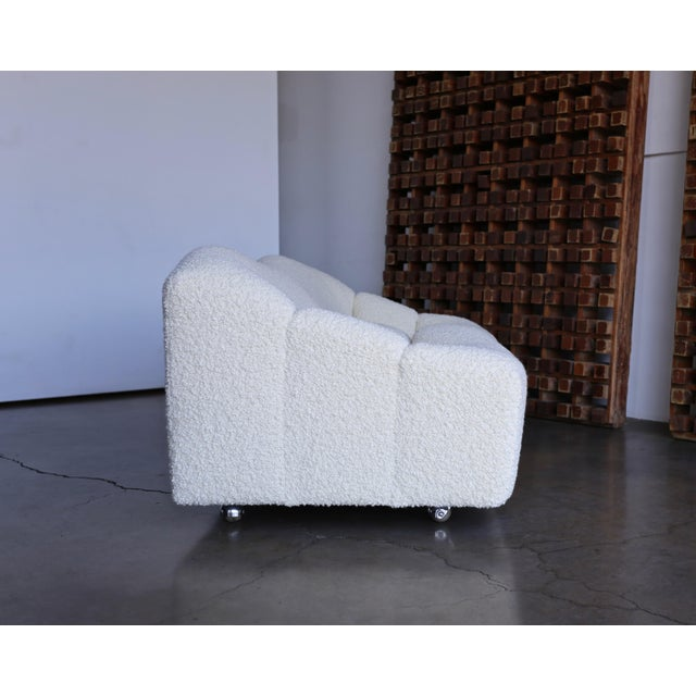 Cream Pierre Paulin Abcd Settee for Artifort Circa 1970 For Sale - Image 8 of 13