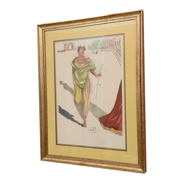 "Salvador Dali 1970s Lithograph, ""Apollo"" For Sale"