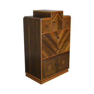 Williamsport Furniture Art Deco High Chest For Sale