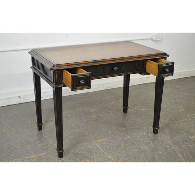STORE ITEM #: 16010-fwmr Hooker Furniture French Louis XVI Style Writing Desk AGE/COUNTRY OF ORIGIN – Approx 15 years,...