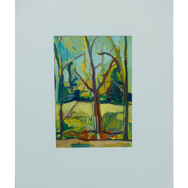 """""""Spring Forest"""" Painting by Martha Holden - Image 6 of 6"""